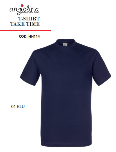 A7W73A -T-SHIRT TAKE TIME - 01 BLU