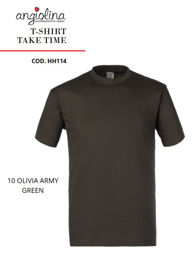 A7W73I - T-SHIRT TAKE TIME -10 OLIVIA