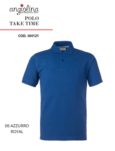 A7W75E - POLO TAKE TIME - 06 AZZURRO R.
