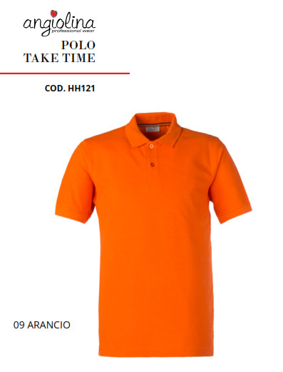 A7W75H - POLO TAKE TIME - 09 ARANCIO