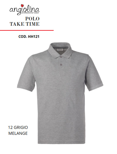 A7W75J - POLO TAKE TIME - 12 GRIGIO MELANGE