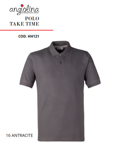 A7W75K - POLO TAKE TIME - 16 ANTRACITE