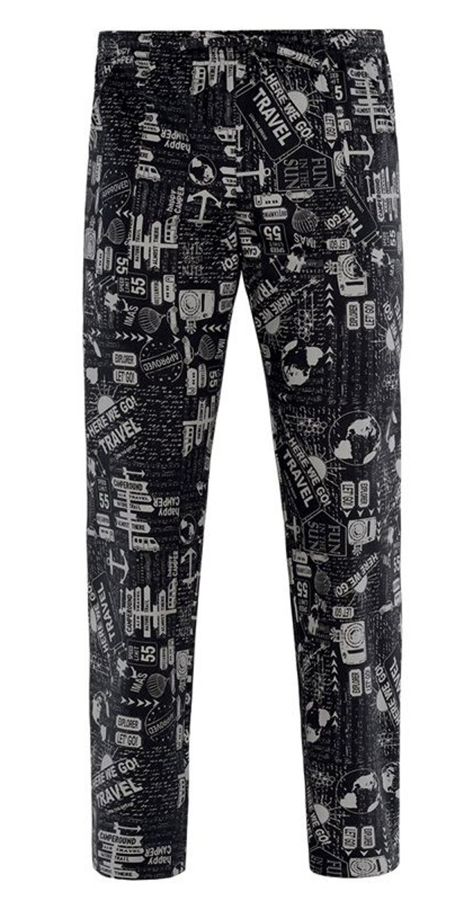 Gb9-F137A - Pantalone Alan - Travel