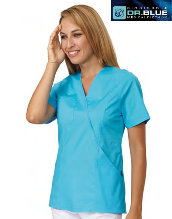 DB8-250A - CASACCA MEDICO NANCY m/c - Turchese