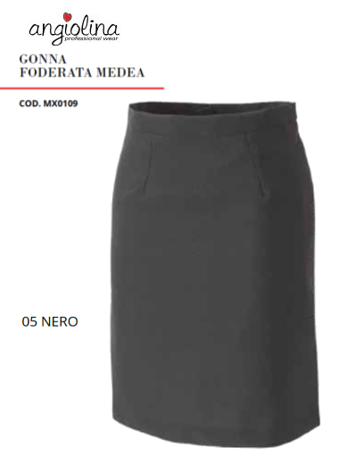 A7-H86 - GONNA FODERATA MEDEA - 05 Nero