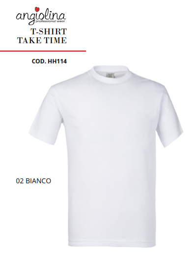 A7W73B - T-SHIRT TAKE TIME - Bianco