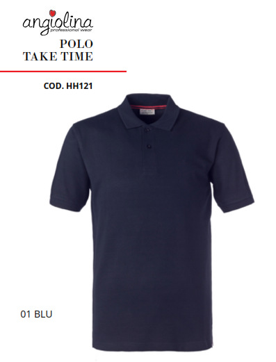 A7W75A - POLO TAKE TIME - 01 BLU