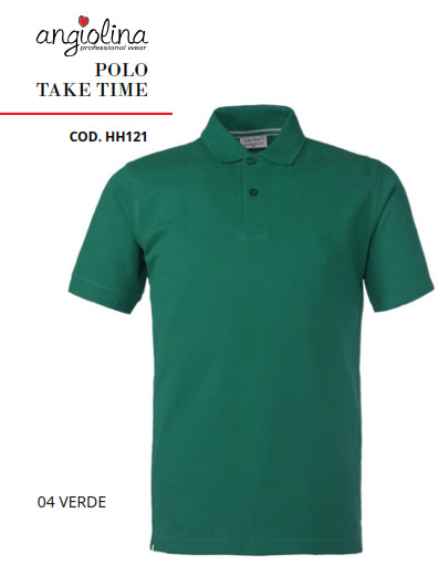 A7W75C - POLO TAKE TIME - 04 VERDE